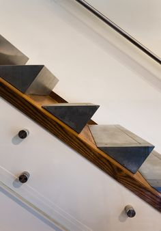 Best Staircase Concrete Photos - Photo 5 of 7 - Dwell Stair Handrail, Staircase Railings, Staircase Design, Stairways, Staircase Glass, Staircase Ideas, Stair Design, Stairs Architecture, Architecture Details