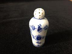 "Vintage Royal Copenhagen Blue Fluted Plain Individual Salt Shaker, 2 1/4"" Tall #RoyalCopenhagen"