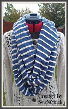 Custom Made Infinity Scarves by SewNChick on Etsy