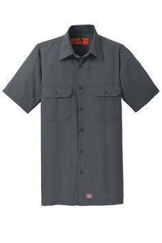 Red Kap SY60 Short Sleeve Solid Ripstop Shirt