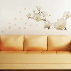 Walplus 107x42 cm Wall Stickers Small Flowers Removable Self-Adhesive Mural Art…