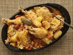 Colombian Chicken Stew With Potatoes, Tomato, and Onion by seriouseats #Chicken_Stew