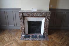 Petit Salon - Cheminée en marbre / Small Living Room - Fireplace - Marble Chimney