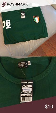 Men's ☘️ IRELAND shirt NWT XXL short sleeve men's Ireland shirt ... NWT a little thicker than t- shirt material Shirts Tees - Short Sleeve