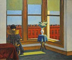 """Edward Hopper - """"Room in Brooklyn"""" {1932}"""