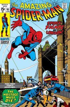 The Amazing Spider-Man #95 - April 1971 cover by John Romita Sr, Sal Buscema and Artie Simek