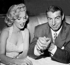 marilyn monroe and joe dimaggio   Marilyn Monroe with second husband Joe DiMaggio