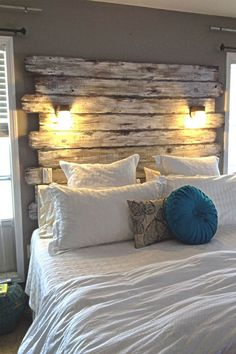 20 Unique and Amazing DIY Headboard to Create the Room of Your Dreams - The ART in LIFE