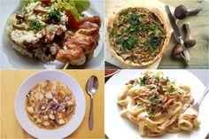 Recepty s hubami Chicken, Meat, Food, Essen, Meals, Yemek, Eten, Cubs