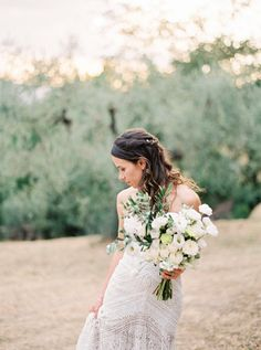 The Bride hails from Brazil and the Groom from the UK in this organic Tuscan wedding that celebrates the coming together of two very special families. Enchanted Forest Wedding, Tuscan Wedding, Used Wedding Dresses, Wedding Flowers, Wedding Planning, Wedding Decorations, Groom, Wedding Inspiration, Flower Girl Dresses