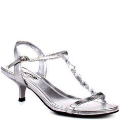 Blossom ruby-4-silver designers Prom & Wedding Shoe heel height 2 ...