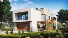 Casa moderna con espectacular diseño, 4 dormitorios y 2 garajes