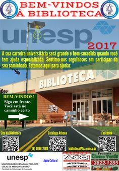 Bem-vindos à Biblioteca 2017