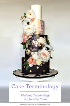 Wedding Terminology You Need to Know: Cakes   Allyson VinZant Weddings + Happy Planning   #wedding #terminology #cakes   http://www.allysonvinzant.com/wedding-terminology-you-need-to-know-cakes/