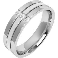 The 36 Best Mens Diamond Set Wedding Ring Images On Pinterest