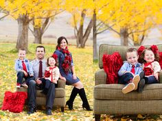 Fall Family photo colors