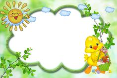 4shared - животни 폴더에 있는 모든 이미지 보기 Borders For Paper, Borders And Frames, School Frame, Blue Nose Friends, Kids Background, Frame Clipart, Border Design, Birthday Balloons, Paper Cards
