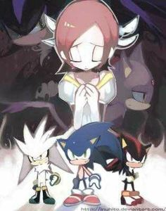 Silver,sonic,shadow,blaze,melphiles and elise