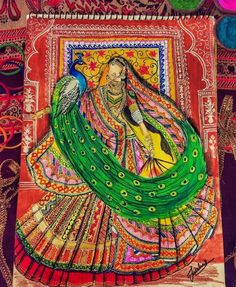 Fashion Illustration Sketches, Fashion Sketches, Illustrations, Rajasthani Painting, Indian Art Paintings, Fashion Painting, Indian Style, Future, Digital