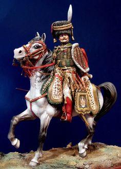 Eugene De Beauharnais, colonel-general des chasseurs a cheval de la Garde. By Alain Lafay