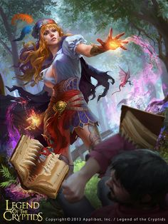 Legend of the Cryptids on Behance