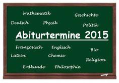 Wann ist deine Prüfung in Deutsch? Termine und andere Infos findest du auf unserem Abitur Guide!