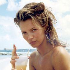 kate moss in Cuba, 1994