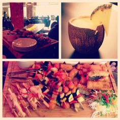 After-Work in InterContinental Style.Every #Thursday evening #PanAsian #food #cocktails #pinacolada #Dj #instagram