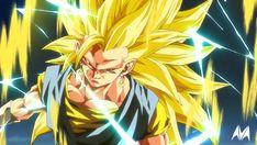 Dragon Ball Z, Manga Art, Anime Art, Gogeta And Vegito, Super Anime, Ssj3, Ball Drawing, Animation Sketches, Anime Fight