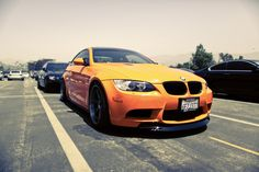 An Orange #BMW