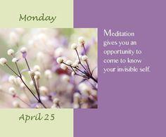 Meditation. [dr. Wayne Dyer]