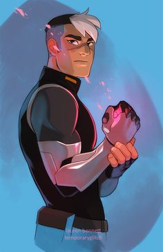 VOLTRON - Shiro by lauren-bennett