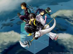 Really everyone can fit in one box? - Kekkaishi anime series