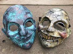 Clown Mask, Halloween Make Up, Skulls, Dyi, Weapons, Armour, Ideas, Mascaras, Armors
