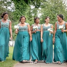 Cool wedding dresses for young: Turquoise bridesmaid dresses ...