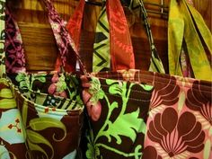 Going Green Shopping bag tutorial