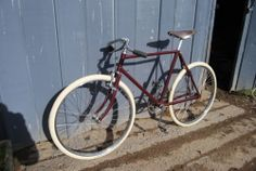 1930s Barker & Wigfall path racer.