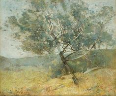 """Springtime,"" Emil Carlsen, oil on canvas, 20 x 25"", private collection."