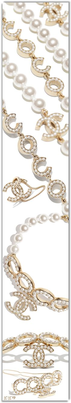CHANEL SPRING/SUMMER 2021 PRE-COLLECTION #Chanel #Accessories #Jewelry #Earrings #Bracelets #Necklaces All Things Fabulous, Chanel Spring, Chanel Fashion, Necklaces, Bracelets, Body Art, Spring Summer, Board, Earrings