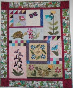 My youngest Great Grand Daughter's Quilt, I just love this pattern