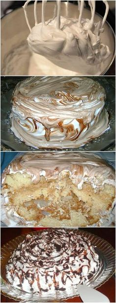 Bolo de Marshmallow VEJA AQUI>>>Primeiramente bata na batedeira os ovos, o açúcar e a margarina. Depois coloque alternadamente o leite e a farinha. Por último, o coco ralado e o fermento. #receita#bolo#torta#doce#sobremesa#aniversario#pudim#mousse#pave#Cheesecake#chocolate#confeitaria