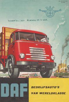 DAF Trucks Dealer Flyer (Holland 1957)