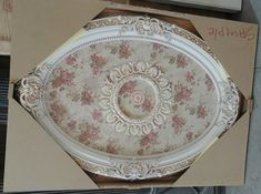 French Foliate Oval Ceiling Medallion - World of Decor Ceiling Decor, Ceiling Lights, Precision Casting, Finishing Nails, Thing 1, Trim Work, Moldings And Trim, Construction Design, Ceiling Medallions