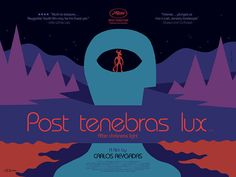 "Beautiful new work from Sam Smith.  UK quad for Mexican drama, Post Tenebras Lux (""Light After Darkness"").  Via Adrian Curry's movieposteroftheday"