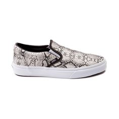 Vans Slip-On Leather Snake Skate Shoe