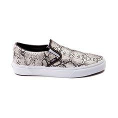 Vans Slip-On Leather Snake Skate Shoe