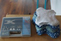 Nachhaltige Monatshygiene: Slipeinlagen und Binden selbst nähen – bluebottles.net