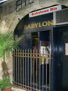 when in Paris, there is a must...Babylone Bis.