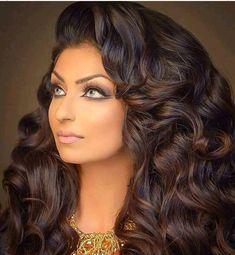 Romantic Hairstyles, Best Wedding Hairstyles, Everyday Hairstyles, Summer Hairstyles, Easy Hairstyles, Girl Hairstyles, Long Curly Hair, Big Hair, Curly Hair Styles