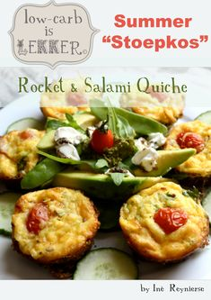 Stoepkos from Low Carb is Lekker Meals Without Carbs, South African Recipes, Ethnic Recipes, Banting Recipes, Brunch, High Fat Foods, Low Carb Breakfast, Savory Snacks, Low Calorie Recipes